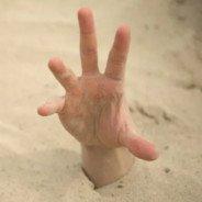 Deployable quicksand